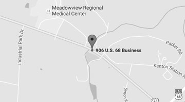 Marysville, KY Location Map